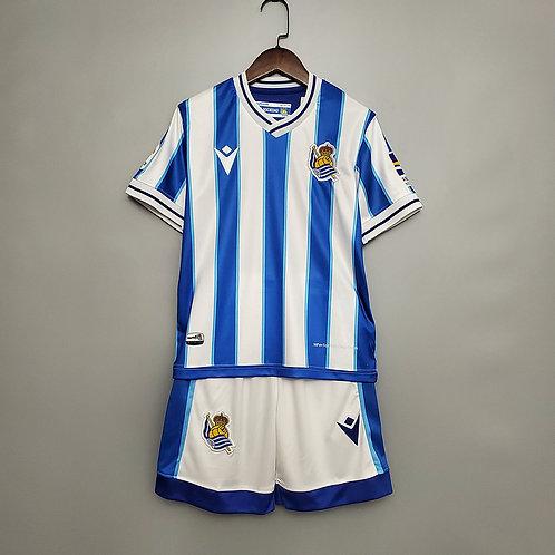 Conjunto Infantil Real Sociedad l 20/21 - Nike