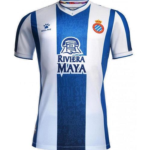 Camisa Espanyol Home 2019 - Torcedor Kelme