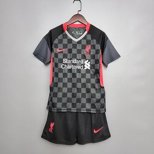 Conjunto Infantil Liverpool III 20/21 - Nike