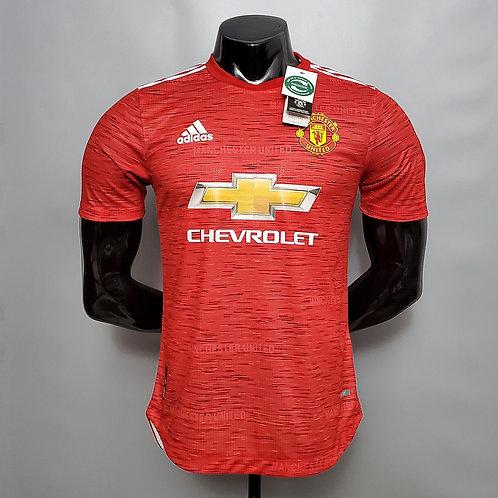 Camisa Manchester United I 20/21 - Jogador Adidas