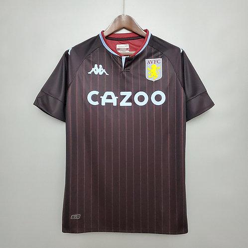 Camisa Aston Villa II 20/21 - Torcedor Kappa