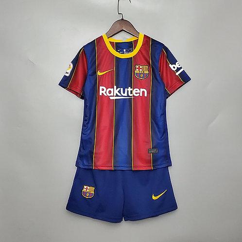 Conjunto Infantil Barcelona l 20/21 - Nike