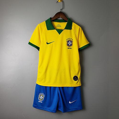 Kit Brasil Home 2020 - Infantil Nike