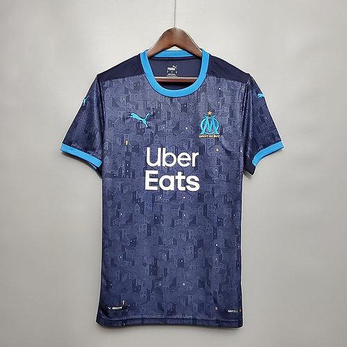 Camisa Olympique de Marseille lI 20/21 - Torcedor Puma