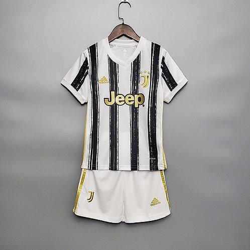 Conjunto Infantil Juventus I 20/21 - Adidas