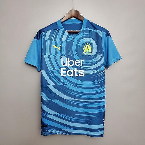 Camisa Olympique de Marseille IlI 20/21 - Torcedor Puma