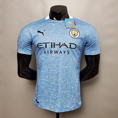 Camisa Manchester City I 20/21 - Jogador Puma