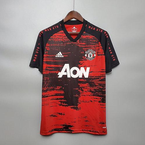 Camisa Manchester United Treino 20/21 - Torcedor Adidas