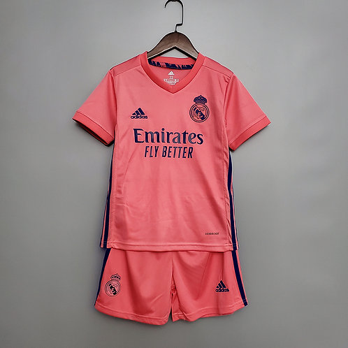 Conjunto Infantil Real Madrid ll 20/21 - Adidas