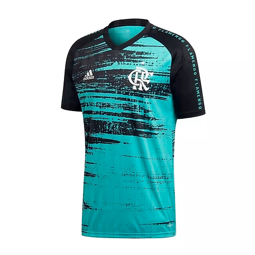 Camisa Flamengo Pré Jogo 2020 - Feminina Adidas