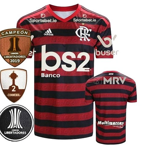 Camisa Flamengo Home 2019 - Edição Campeão Libertadores