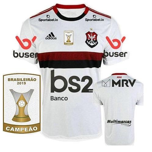 Camisa Flamengo Away 2019 - Campeão Brasileiro
