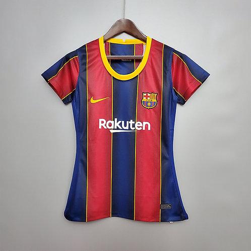 Camisa Barcelona l 20/21 - Torcedora Nike