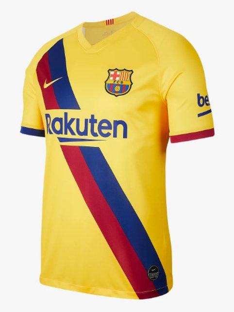 Camisa Barcelona Away 2019 - Jogador Nike