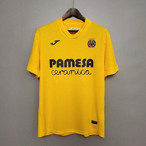 Camisa Villarreal l 20/21 - Torcedor Jomar