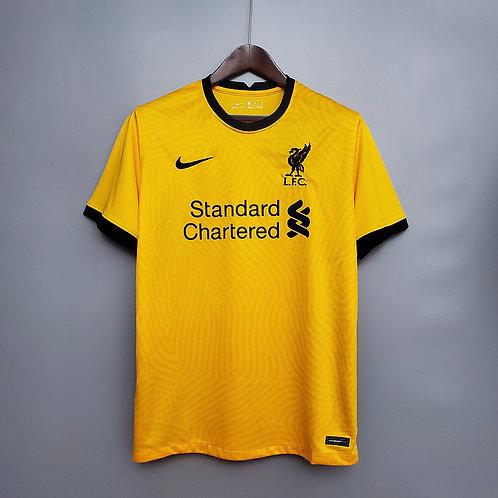 Camisa Liverpool Goleiro II 20/21 - Torcedor Nike