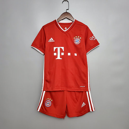 Conjunto Infantil Bayern de Munique l 20/21 - Adidas