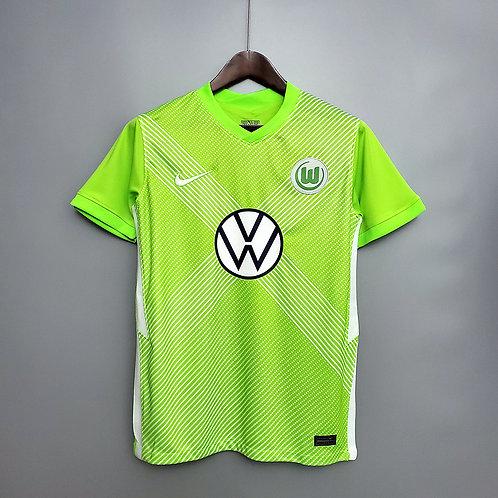 Camisa Wolfsburg l 20/21 - Torcedor Nike