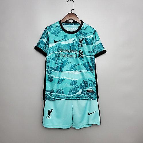 Conjunto Infantil Liverpool II 20/21 - Infantil Nike