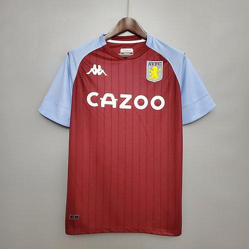 Camisa Aston Villa I 20/21 - Torcedor Kappa