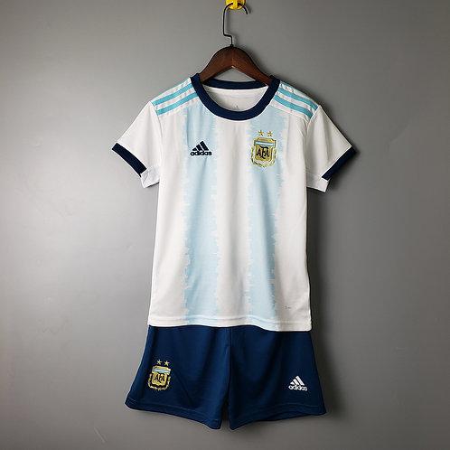 Kit Argentina Home 2020 - Infantil Adidas