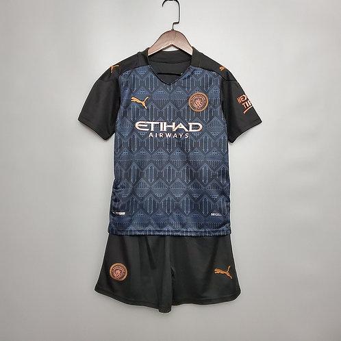 Conjunto Infantil Manchester City II 20/21 - Puma