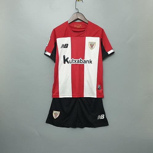 Kit Atlético de Bilbao Home 2020 - Infantil New Balance