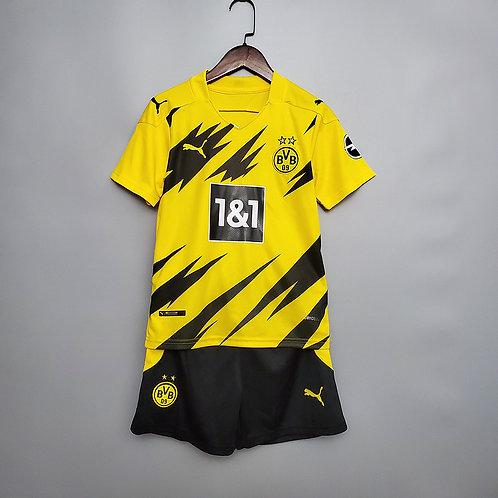 Conjunto Infantil Borussia Dortmund I 20/21 - Puma