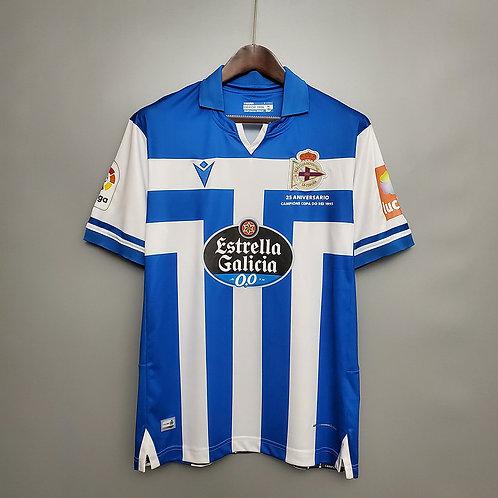 Camisa Deportivo La Coruña l 20/21 - Torcedor Macron
