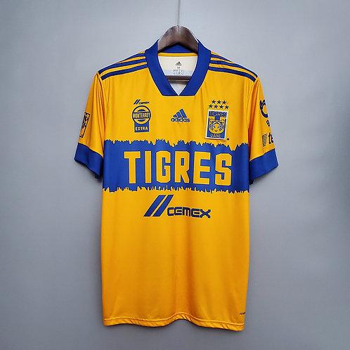 Camisa Tigres I 20/21 - Torcedor Adidas