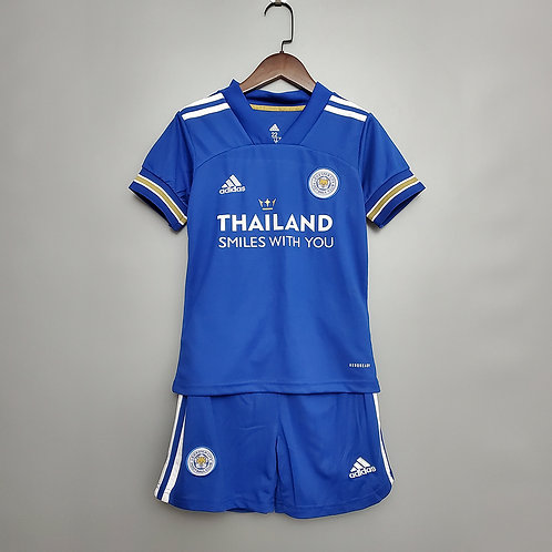 Conjunto Infantil Leicester I 20/21 - Adidas