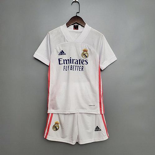Conjunto Infantil Real Madrid l 20/21 - Adidas