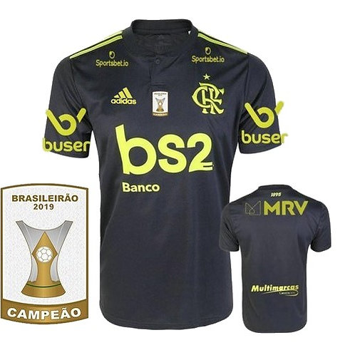 Camisa Flamengo Third 2019 - Campeão Brasileiro