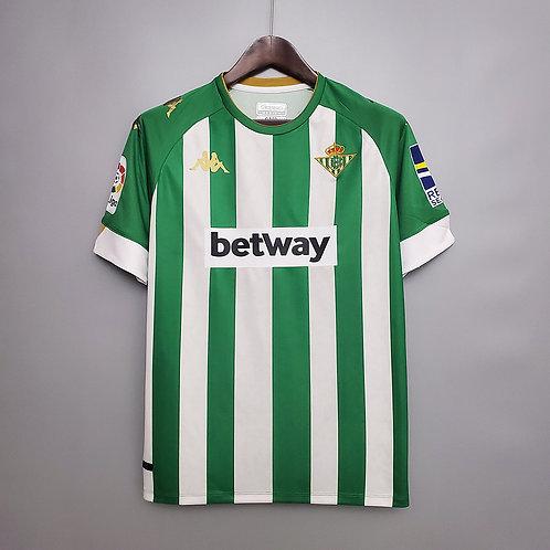 Camisa Real Bétis l 20/21 - Torcedor Kappa