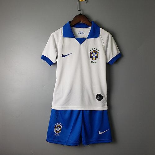 Kit Brasil Away 2020 - Infantil Nike