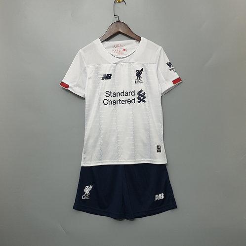 Kit Liverpool Away 2020 - Infantil New Balance