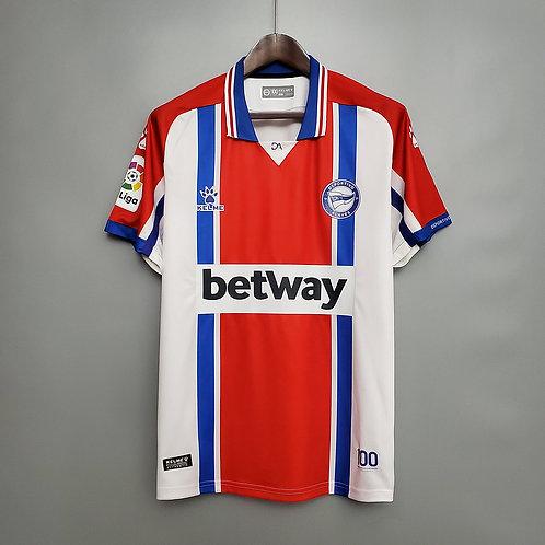 Camisa Deportivo Alavés  ll 20/21 - Torcedor Kelme
