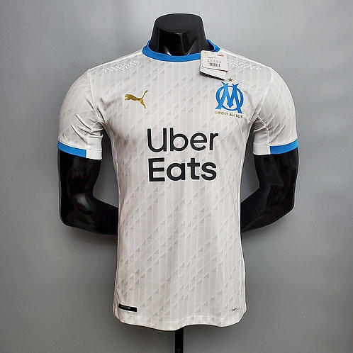 Camisa Olympique de Marseille I 20/21 - Jogador Puma