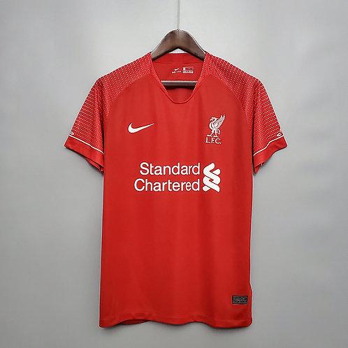 Camisa Liverpool Treino 20/21 - Torcedor Nike