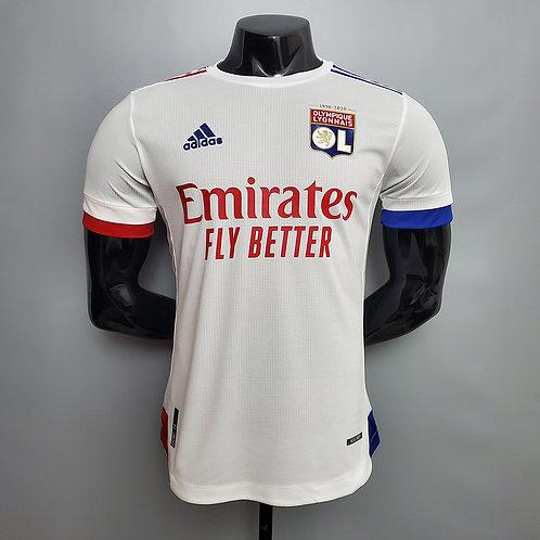 Camisa Lyon I 20/21 - Jogador Adidas