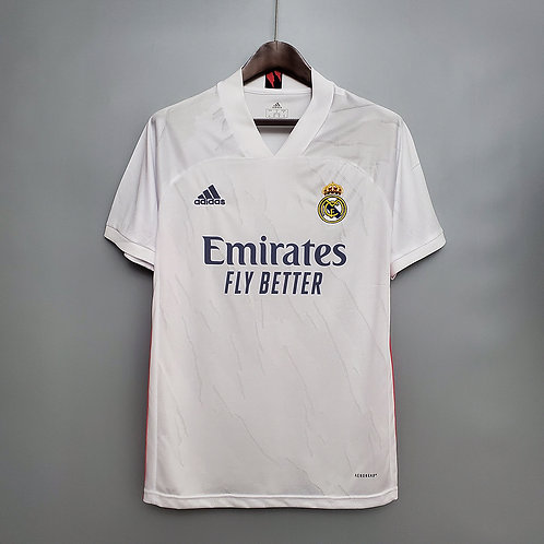 Camisa Real Madrid l 20/21 - Torcedor Adidas