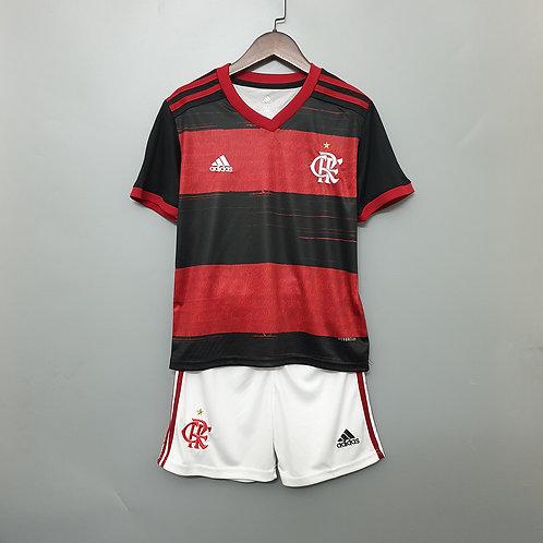 Kit Flamengo Home 2020 - Infantil Adidas