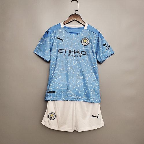 Conjunto Infantil Manchester City I 20/21 - Puma