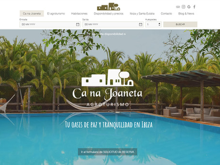 """""""Ca na Joaneta"""" inaugura su nueva web totalmente renovada"""