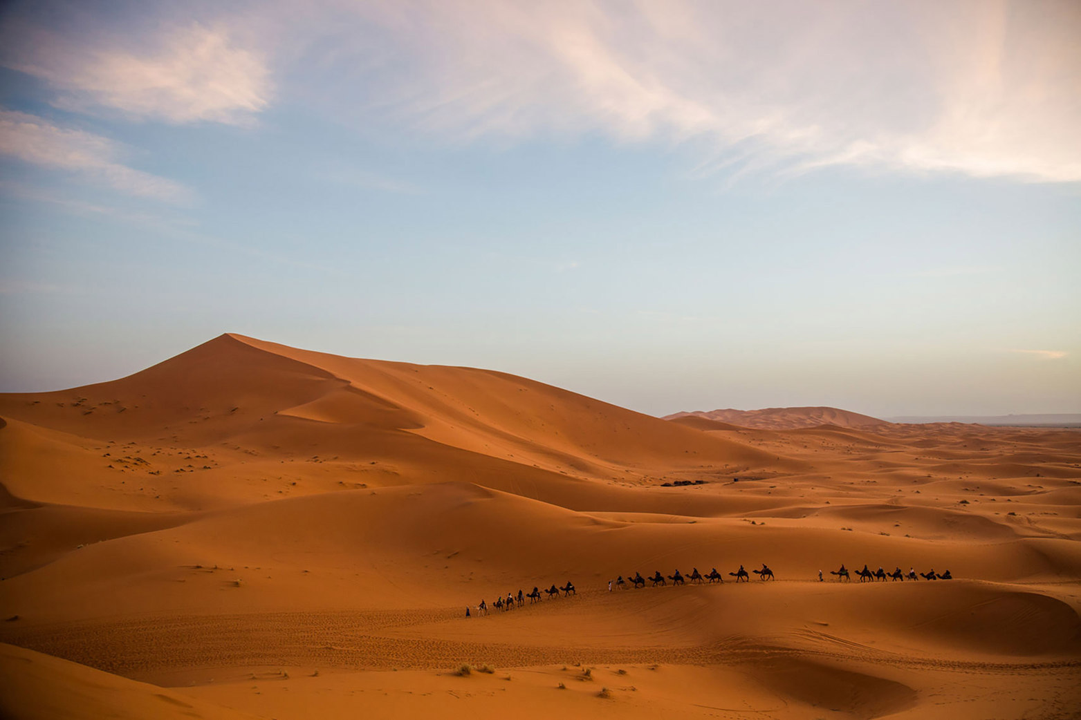 Sahara Desert, Morocco  ||  Budget Travel