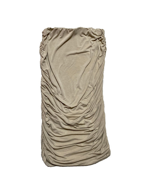 Pretty Little Thing beige skirt
