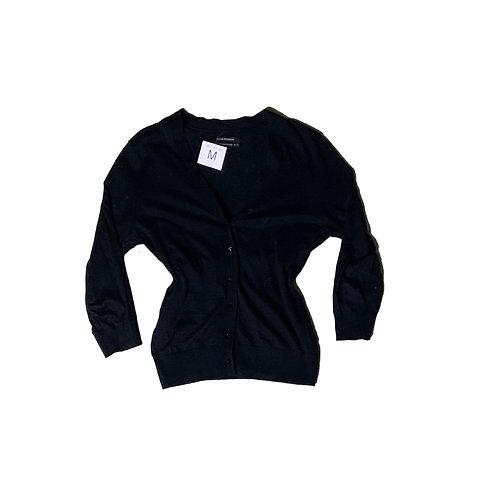 Club Monaco black button-up cardigan