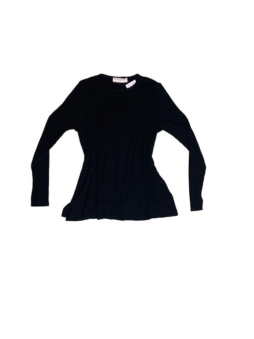 Project Social T- Urban Outfitters black ribbed long sleeve shirt