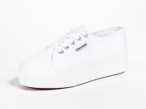 Superga white kick