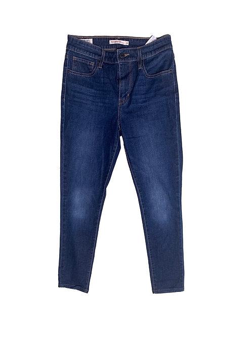 Levi's 721 blue hirise skinny jean